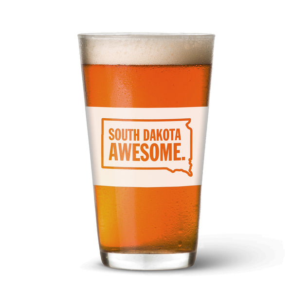 South Dakota Awesome Pint Glass