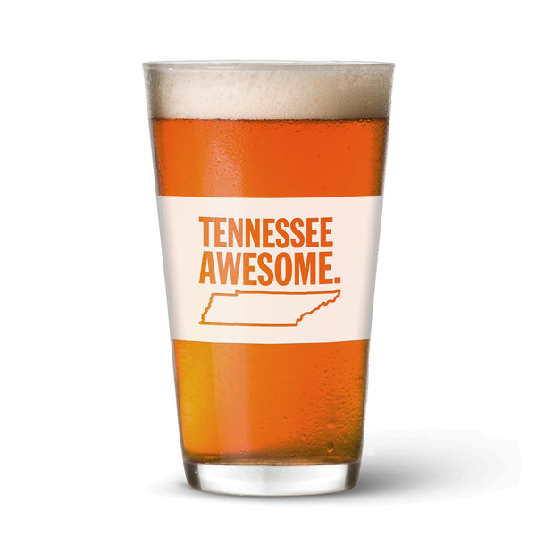 Tennessee Awesome Pint Glass