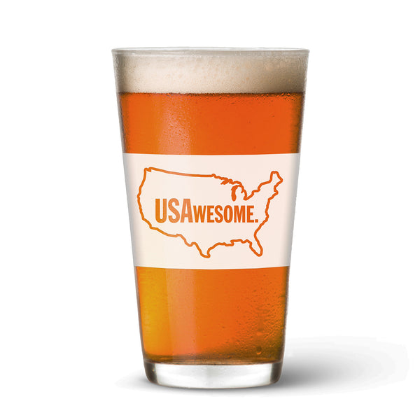 USAwesome Pint Glass