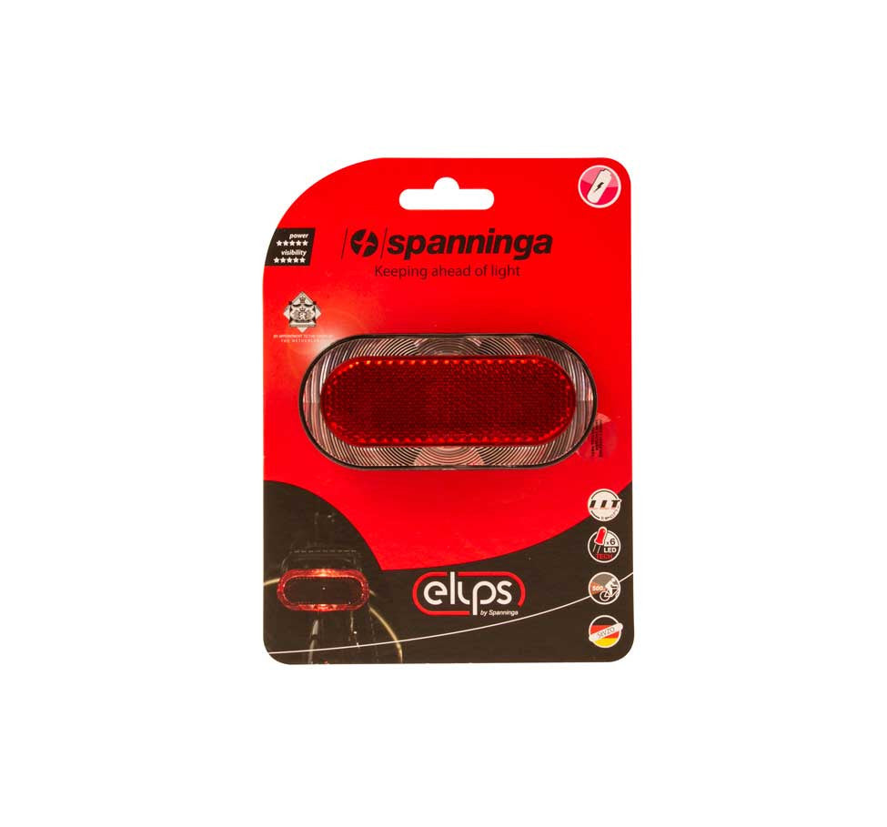 ELIPS XE REAR LIGHT - E-BIKE - RACK MOUNT