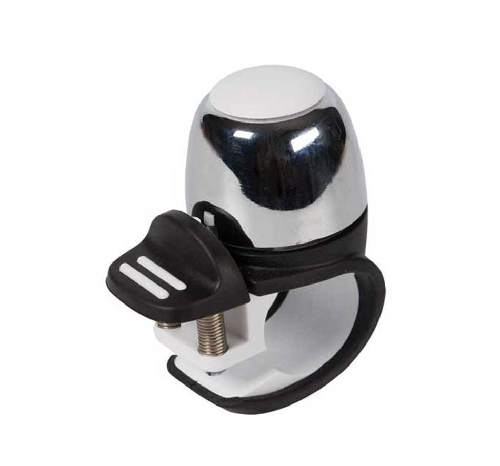 Widek Compact Bell II Chrome with White Top