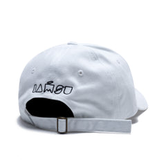 Bo$$ Up Dad Hat in White