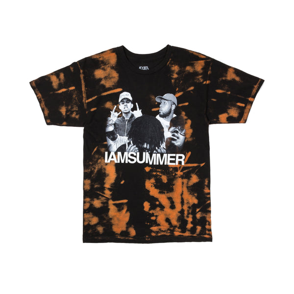 IAMSUMMER Photo Bleach Tee