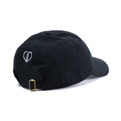 Pure Love Dad Hat in Black