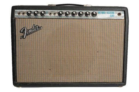 1968 Fender Deluxe Reverb Amp AB763 Circuit (used)