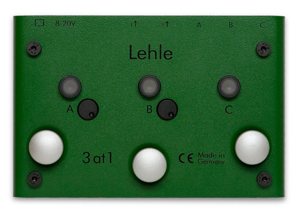 3 at 1 SGoS Stereo Switcher