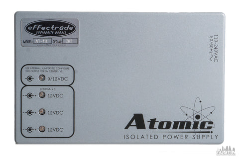 Effectrode Atomic Isolated Power Supply
