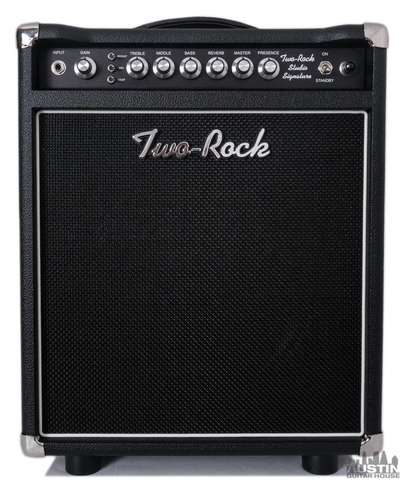 Two-Rock Studio Signature 35W 1x12 Combo Black Faceplate