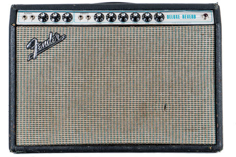 1970 Fender Deluxe Reverb Silverface Modded (USED)