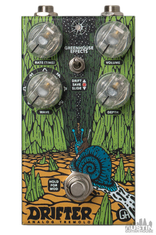 GreenHouse Effects Drifter Analog Tremolo