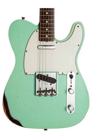 Fender Custom Shop '59 Telecaster Relic Seafoam Green Over 3TSB (used)