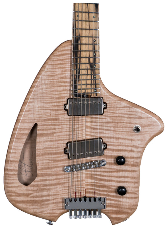 Forshage Hollow Orion 7-String (Burl Maple)