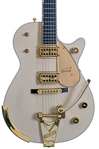 Gretsch G6134T58 Vintage Select White Penguin w/Bigsby (Used)