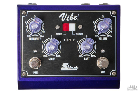 Shin-ei Vibe 2 Mini Vibe-Bro Chorus/Vibrato (Metallic Hot Rod Purple)