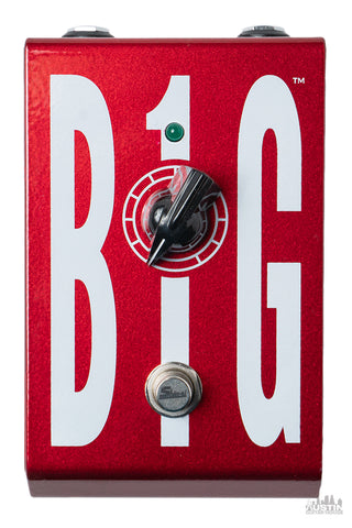 BIG 1 Gain Booster Voodoo Red Slight Metallic