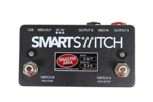 SMARTSwitch 2 Channel MIDI Channel Switcher