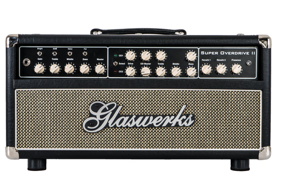 Glaswerks Super Overdrive II 100W Head