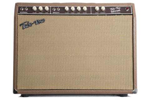 Tube-Tone Brown 6G16 Vibroverb 2x10 Combo (USED)