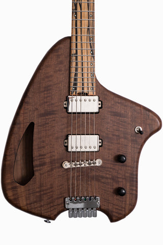 Forshage Custom Orion Semi-Hollow (Flamed Walnut Top & Back)