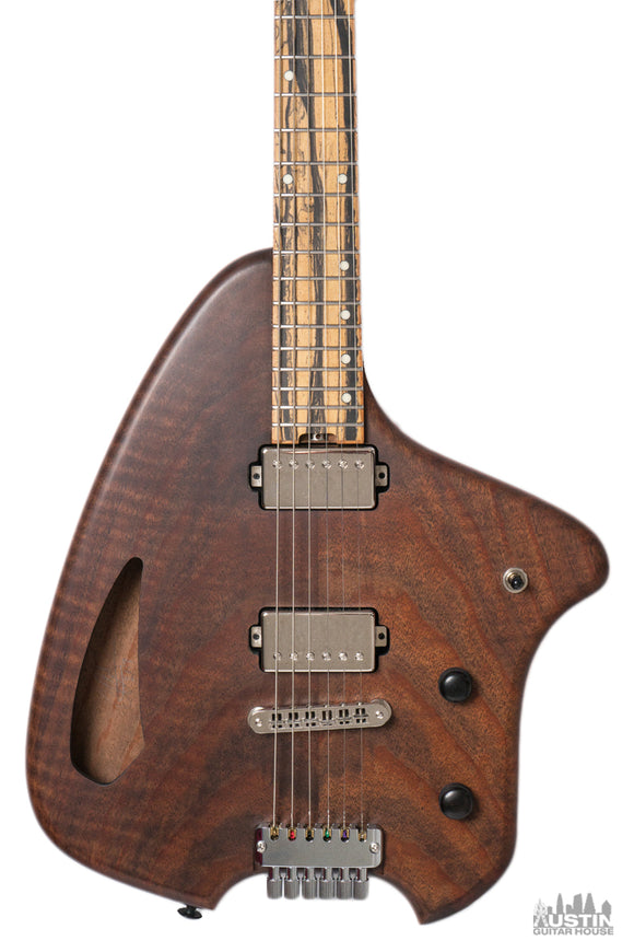 Forshage Orion Flamed Walnut Semi Hollow