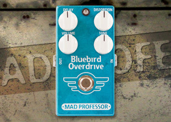 Bluebird Overdrive Delay PCB