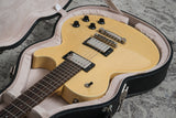 2015 Collings City Limits Mahogany Top T.V. Yellow (USED)