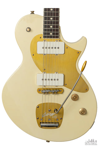 Collings 360 LT M Special Edition Aged Olympic White w/Lollar Jazzmaster PU's