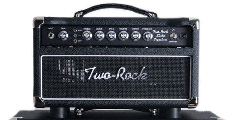Two-Rock Studio Signature 35W Head Black Faceplate