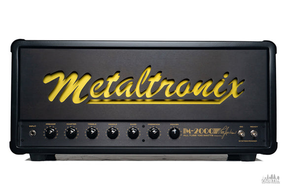 Metaltronix M-2000 100W Head by Lee Jackson *PRE-ORDER*