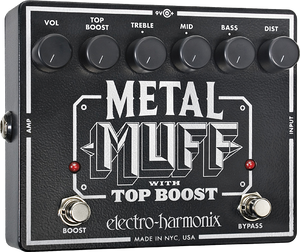 Metal Muff | Distortion with Top Boost