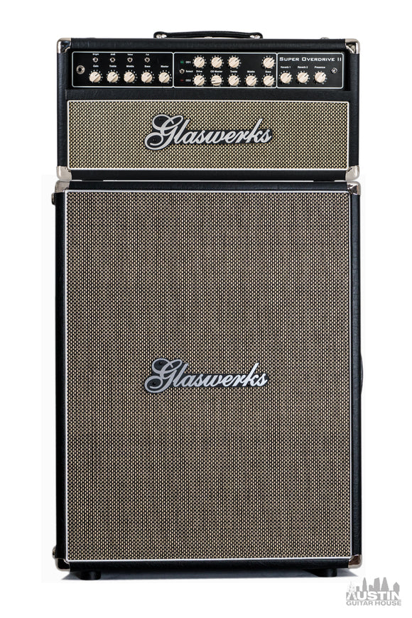 Glaswerks Super Overdrive II 100W Head & 2x12 Cabinet