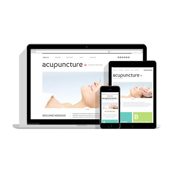 Massage Salon Responsive Customizable Website - 49006
