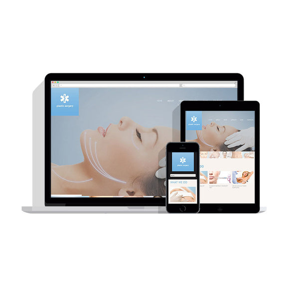 Plastic Surgery Responsive Customizable Website - 52477
