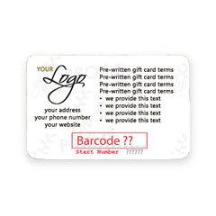 Gift Card, Style GCD40 - Grow Each Day