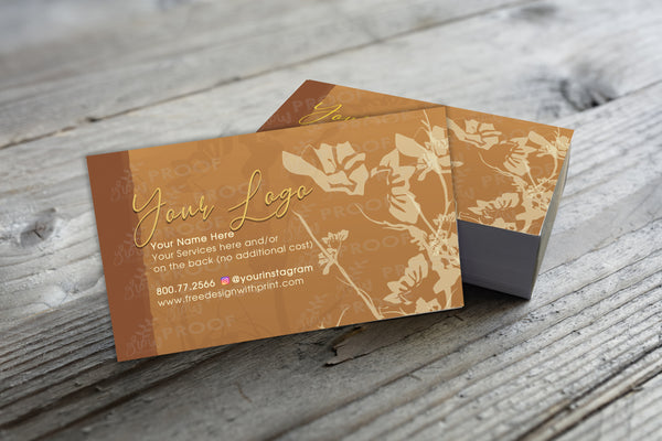Business Card, Style BC870