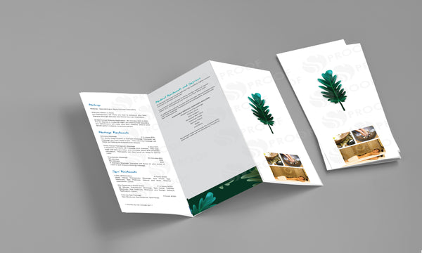 Brochure Two-Fold - BR1590