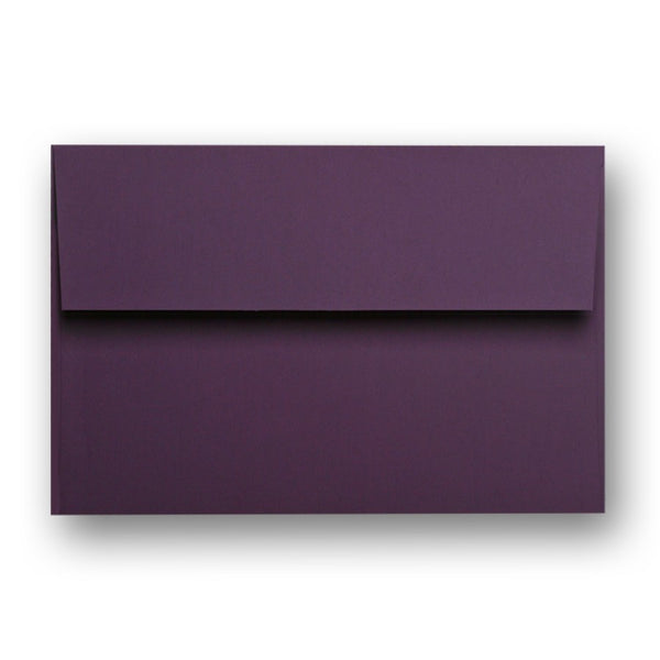 Eggplant Purple Gift Card Carrier Envelope, (.25 ea)
