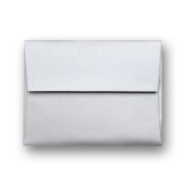 Metallic Silver Gift Card Carrier Envelope, (.24 ea)