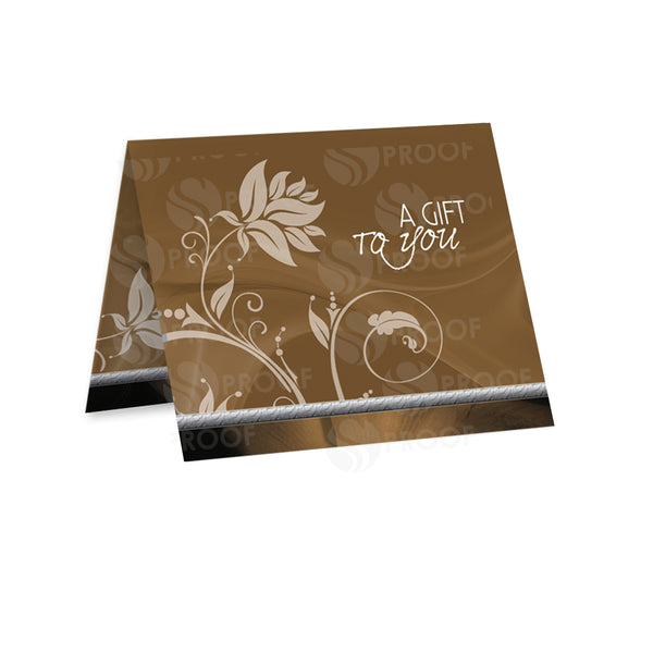 Gift Card Carrier Style GCC103