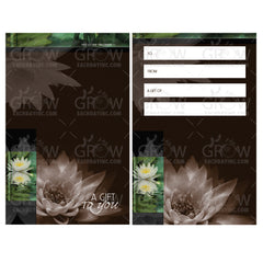 Gift Card Carrier Style GCC104 - Grow Each Day