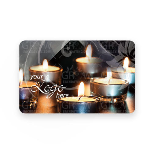 Glitz Spa Candle Gift Card