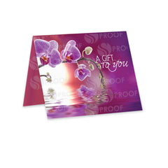 Orchid Dreams Gift Card Carrier -GCC710 - Grow Each Day