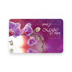 Orchid Dreams Gift Card - Grow Each Day