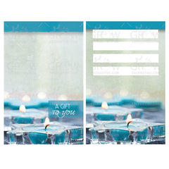 Crystal Lake Spa Gift Card Carrier GCC750 - Grow Each Day