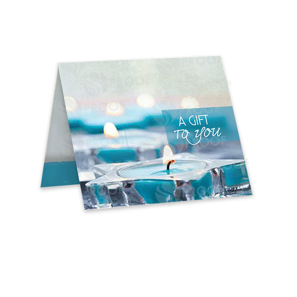 Crystal Lake Spa Gift Card Carrier GCC750