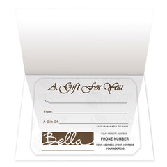 Gift Certificate Insert, Style IC03 - Grow Each Day