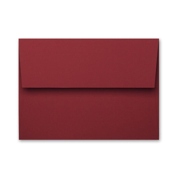 Deep Merlot Red Gift Card Carrier Envelope, (.27 ea)