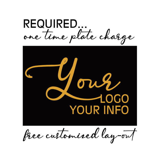 Copy of BAGS, FREE DESIGN - Required One Time Plate Fee - OTPF01