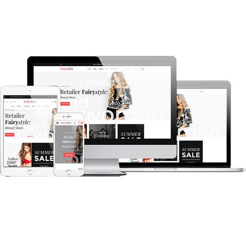 FairyStyle Responsive Customizable Website - 58907