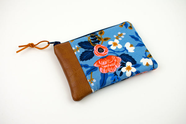 Coin Purse - Birch Floral